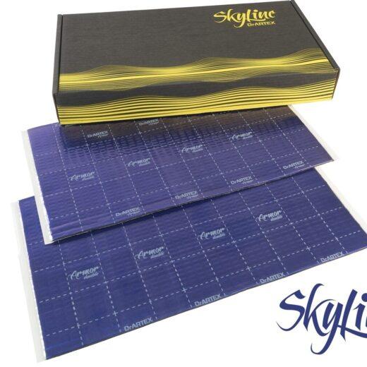 DrArtex Skyline 2018 box and sheets