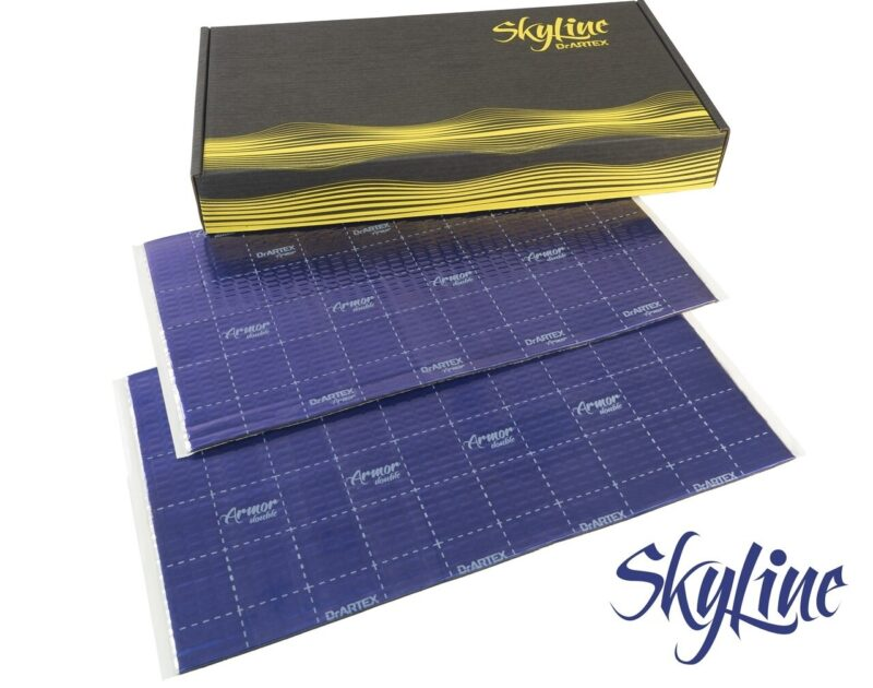 DrArtex Skyline 2018 box and sheets